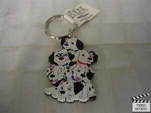 101 Dalmatians vinyl keychain, Disney; Applause NEW