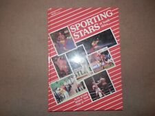 Sporting Stars of South Africa 1986 Alan Kourie Johan Kriek Felix Coetzee SIGNED