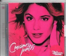 CD ALBUM 11 TITRES--VIOLETTA--CRECIMOS JUNTOS--2015