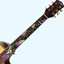 Beautiful PET Guitar Bass Inlay Sticker Fret Fretboard Marker Decal DIY Kj