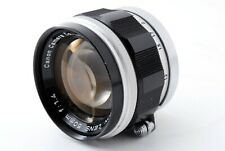 Exc+5 Canon 50mm f/1.4 MF Lens for LTM L39 Leica Screw Mount from Japan 538531