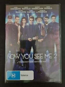 Now You See Me 2. Brand new & sealed DVD. Region 4 PAL. Free post!