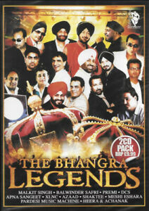 The Bhangra Legends (Premi, Heera, Azaad, XLNC & Others) - 2 Bhangra CD Pack