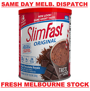 SlimFast Original Chocolate Royale Meal Replacement Slim Fast WEIGHT LOSS - 364g