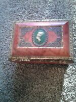 Blue Bird Confectionery Footed Candy Tin Harry Vincent Limited Worcestershire