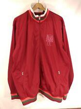 "Sean John Burgundy Red Track Style Jacket Coat - Size XXL 27"" Chest"