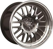 XXR 531 17X9 5x100/114.3 +25 Chromium Black Wheels Fits 350z G35 240sx Rx8 Rx7