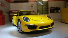 Coche de automodelismo y aeromodelismo WELLY color principal amarillo