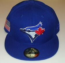2014 Toronto Blue Jays 7 1/4 New Pro Era Hat Cap Baseball MLB USA Flag Patch