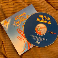 RARE - ALL DOGS GO TO HEAVEN 2; DVD Pizza Hut Promo Disc 1996 Don Bluth Like New