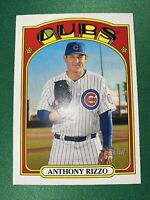2021 Topps Heritage Baseball #175 Anthony Rizzo - Chicago Cubs
