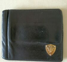 Gucci Black Leather Bifold Card Holder Wallet
