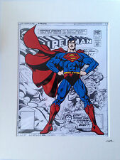 Superman - Design 3 - DC Comics - Hand Drawn & Hand Painted Cel