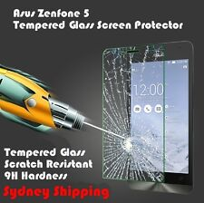 Tempered Glass Screen Protector Guard For Asus Zenfone5 Au Stock Anti Shatter