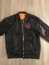 """SAVAGERY BOMBER JACKET """"Can't Touch Touch This"""" Size M"""