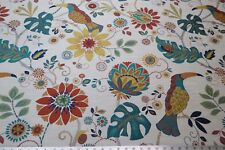 Swavelle/Millcreek Copa Cobana Tropical Amethyst Toucan Sam Vibrant Upholstery