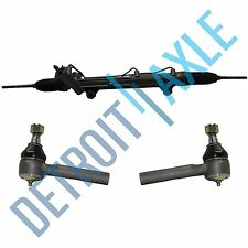Power Steering Rack and Pinion Assembly + 2 Outer Tie Rod Ends for Ford Mercury