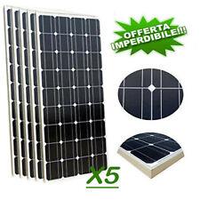 Kit Fotovoltaico 3KW Giornaliero Pwm Isola Solare Pannello 100W 5PZ