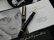 MONTBLANC Donation Pen Yehudi Menuhin Fountain Pen Medium (M) nib, Year 2000