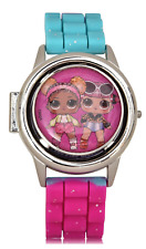 L.O.L. SURPRISE LCD Watch w/Flip-Open Spinner Face & Silicone Strap Band NWT NIB
