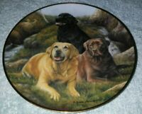 Franklin Mint - Beloved Companions Collectible Plate