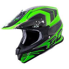 Scorpion VX-R70 Quartz Neon Green MX Helmet Adult 2XL