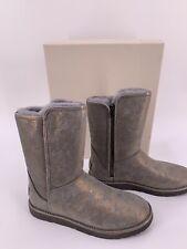 Neu Luxury Original UGG Damen Leder Winter Boots Stiefel Lammfell Große-38