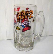 Nintendo Super Mario Bros 2 Beer Mug Stein 1989 Video Game Collectible