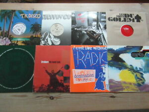 """A COLLECTION OF HOUSE,TRANCE,TEKNO,GARAGE 12"""" SINGLES x 8-2000's VG-EX-10"""