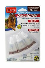 Hartz Ultra Guard Topical Flea & Tick Prevention, Dual Action 61-150 lbs Dog