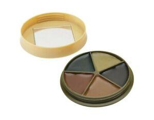 HME CMOFP5 Camo Black/Brown Green/Sand Light Green Face Paint Kit