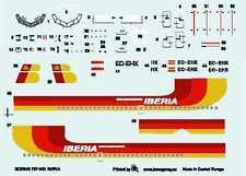 "Boeing 737-300 ""Iberia"" Airlines (español MKGS) 1/144 Boa DECAL set"