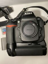 Nikon D300 12.3MP Digital SLR Camera Body Bundle 23,885 Shutter Count