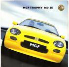 MG MGF Trophy 160 SE Limited Edition 2001 UK Market Foldout Sales Brochure