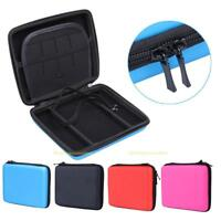 Hard EVA Protective Carry Storage Pouch Case Cover Bag w/ Zip for Nintendo 2DS