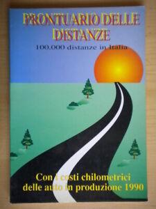 Prontuario delle distanze Italia guida viaggi vacanze turismo costi autostrada