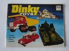 Dinky - Die Cast Toys -No. 09   1973 - Katalog  DIN A 6