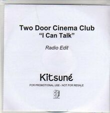 (AD117) Two Door Cinema Club, I Can Talk - DJ CD