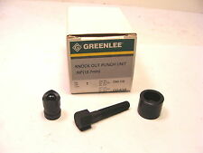"NOS Greenlee USA KNOCKOUT ROUND PUNCH UNIT 1/2"" Conduit  No.730-1/2"