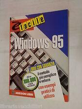 E FACILE WINDOWS 95 Sue Plumley Jackson 1626 2000 libro informatica scienze di