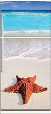 Sticker frigo électroménager déco cuisine Etoie de mer 70x170cm réf 678