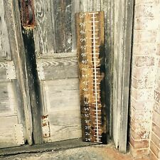 "Wood Sign - ""Growth Chart"" - Kids, Nursery, Ruler, Teacher"