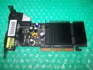 XFX Nvidia GeForce 6200 256MB DDR2 DVI/VGA/TV AGP Graphic Card, Win 7 compatible