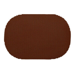 Fishnet Chocolate Oval Placemat Dz.