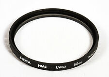 Hoya 52mm UV(C) HMC Filter, Compatible W/52mm Lenses *Made in Philippines* - EX