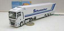 """Herpa  306263MAN TGX XXL Euro6 Kühlkoffer-Sattelzug """"Spedition Schumacher"""""""