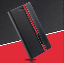 Fashion Luxury Book Flip PU Leather Cover Stand Wallet Case For Various Phones