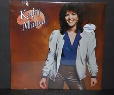 Kathy Mattea self titled SEALED vinyl LP record cut out