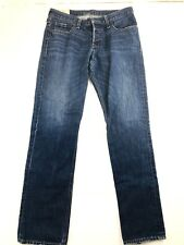 Hollister Mens Jeans 32x32 Slim Straight fit Button Fly (289) NICE medium wash