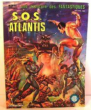 "BD brochée Marvel ""une av des fantastiques"" n°34 sos atlantis ed lug 1984"